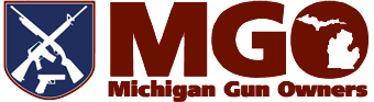 MGO Michigan Gun Owners Logo Horizontal