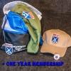 MGO Swag Pack and 1 Year Membership